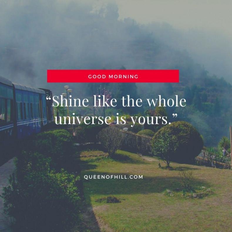 Good Morning Darjeeling - Good Morning Thought