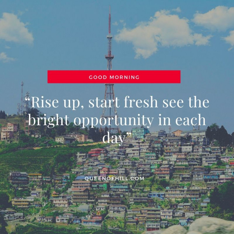 Good Morning Kurseong - Good Morning Messages for Friends