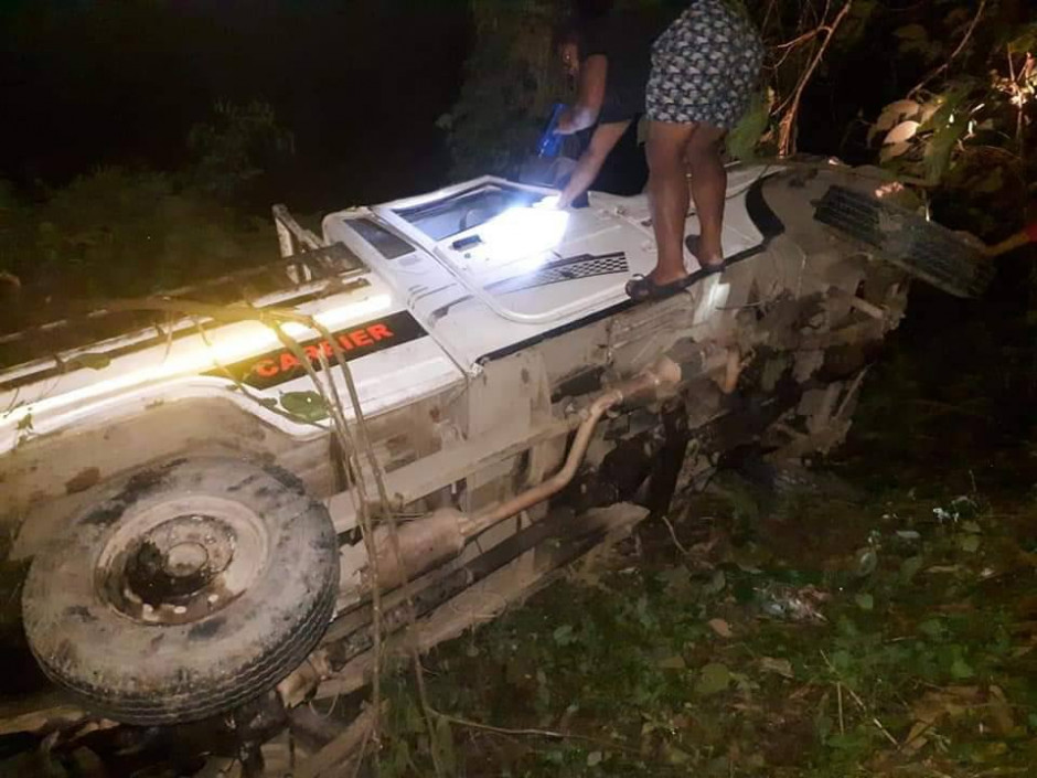 Pickup Accident Travelling From Kalimpong to Samalbung, 2 dead