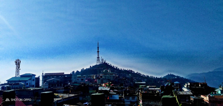 Beautiful View of Kurseong, TV Tower and Eagle's Crag