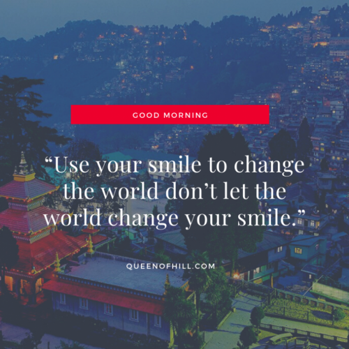 Good Morning Messages - Good Morning Darjeeling