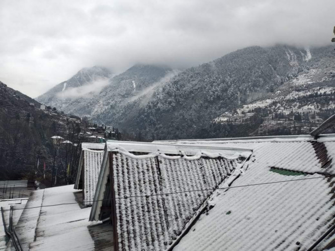 Heavy Snowfall in Changu, Nathula, Nathang, Kupup and high altitude areas of Sikkim
