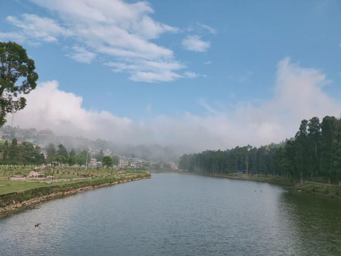 Sumendu Lake of Mirik