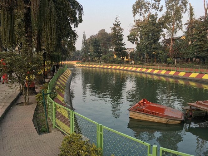Surya Sen Park a well-known Picnic Spot in Siliguri