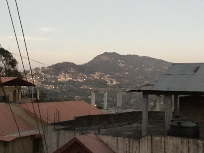 View of Kalimpong Town